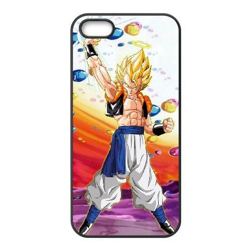 Dragon Ball Z 023 coque iPhone 4 4S Housse téléphone Noir de couverture de cas coque EOKXLLNCD19860