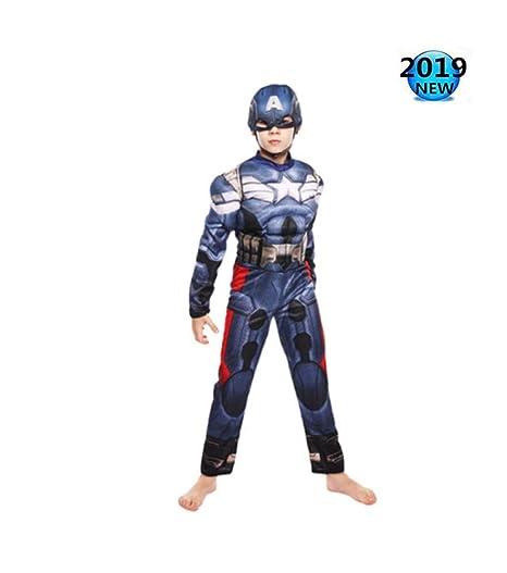 Cosplay Capitán América Disfraz Avengers Spider-Man Disfraz Niños ...