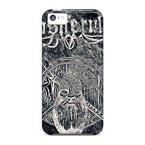 Shockproof Hard Cell-phone Case For Iphone 5c (DiT7193Vwng) Unique Design Fashion Ensiferum Band Pattern