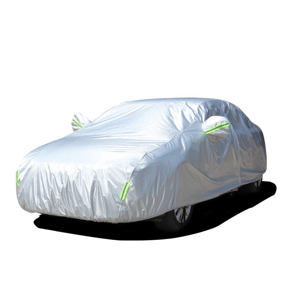 万全区孔家庄镇美衣社女装店 オックスフォードカーカバーセダンカバー防水/防風/防塵/耐傷性すべてのacrモデルのための完全な屋外UV保護フルカーカバーメッセージお問い合わせあなたの車のモデル (色 : Oxford cloth)  Oxford cloth B07QYY6C5F