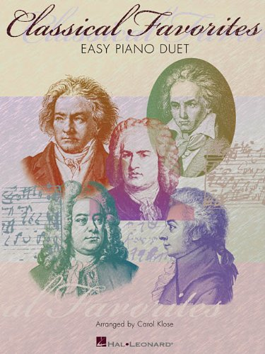 Classical Favorites: Intermediate Level Piano Duets