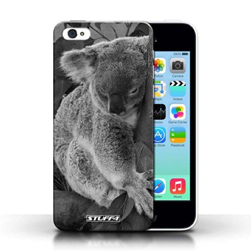 Kobalt® protector duro de nuevo caso / cubierta para el Apple iPhone 5C | Oso koala Diseño | Animales de zoológico mono colección