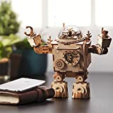 ROKR 3D Wooden Puzzle Music Box Craft Toys Best