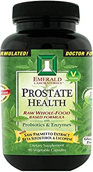 Emerald Laboratories - Prostate Health - with Saw Palmetto Extract, Beta Sitosterol & Lycopene - 90 Vegetable Capsules