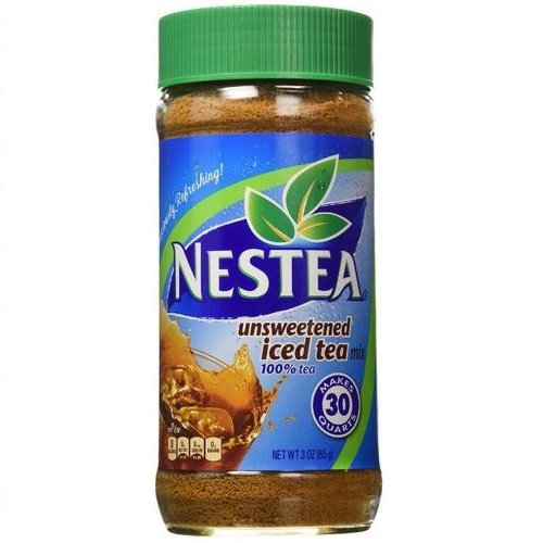 Nestea, 100% Instant Tea, Unsweetened, 3-Ounce Containers (Pack of 3) by Nestea (Image #1)