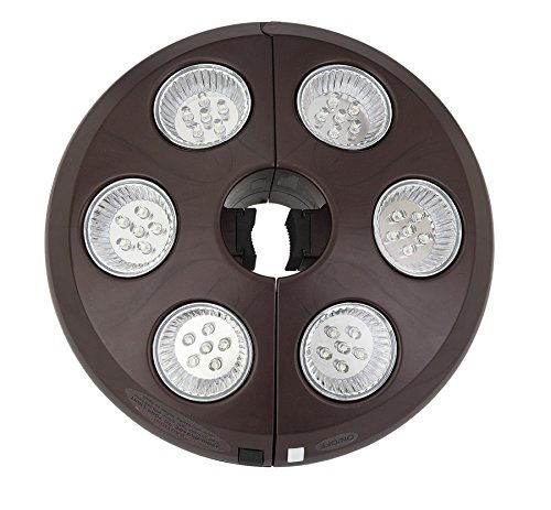 Treasure Garden Vega-L Cordless Umbrella Light (Bronze) by Treasure Garden