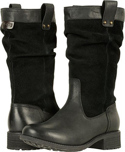 UGG Womens Bruckner Boot Black Size (Ladies Sheepskin Boots)