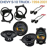 Fits Chevy S-10 Truck 1994-2001 OEM Speaker Upgrade Harmony R46 R65 Package New