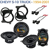 Chevy S-10 Truck 1994-2001 OEM Speaker Upgrade Harmony R46 R65 Package New