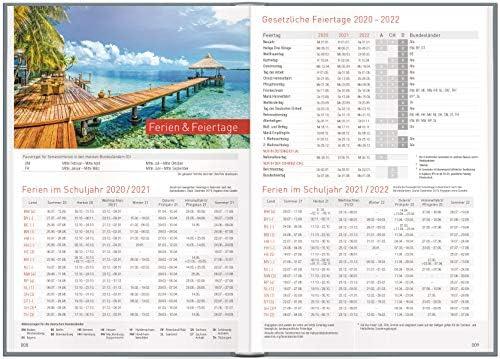 Chäff-Timer Classic A5 Kalender 2020/2021 [Tropennacht] Terminplaner 18 Monate: Juli 2020 bis Dez. 2021 | Wochenkalender, Organizer, Terminkalender mit Wochenplaner - nachhaltig & klimaneutral