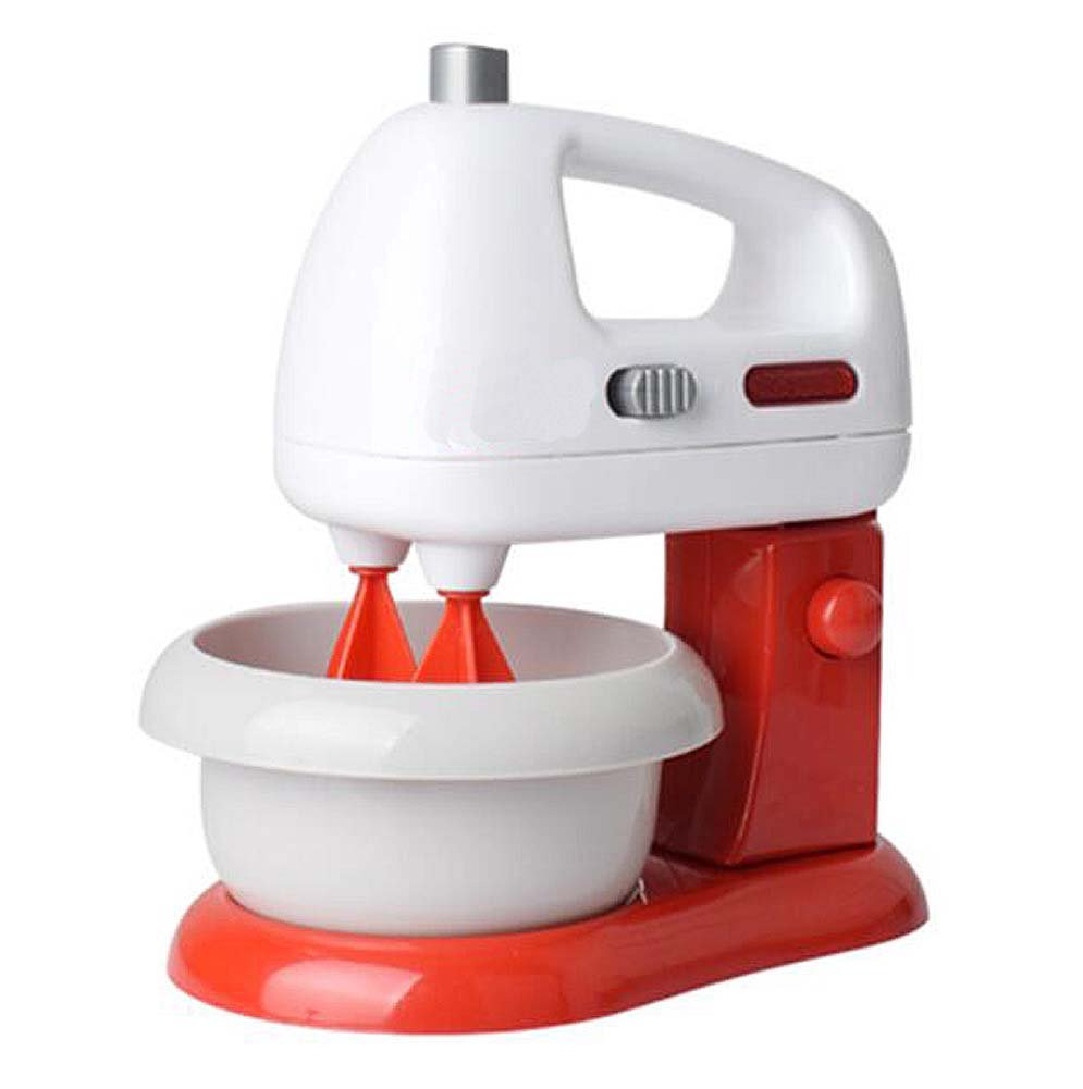 Mini Home Appliances Toy Set Simulation Electrical Appliances-Red Mixer Toy
