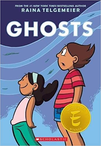 Image result for ghosts raina telgemeier