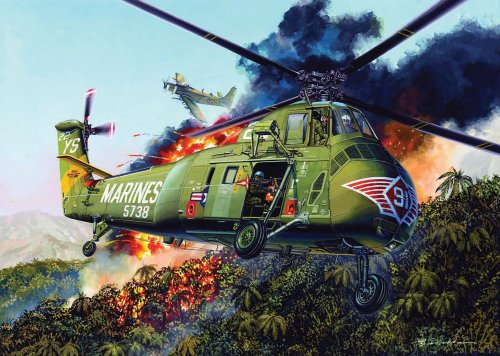 1/48 U.S. Marine Corps UH-34D (japan import)