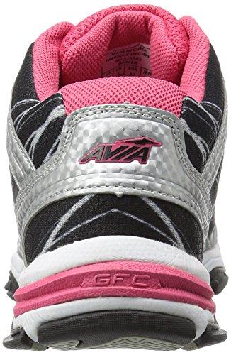 Avia GFC Studio cross-trainer de la mujer zapatos Lt Grey-Pink-Black