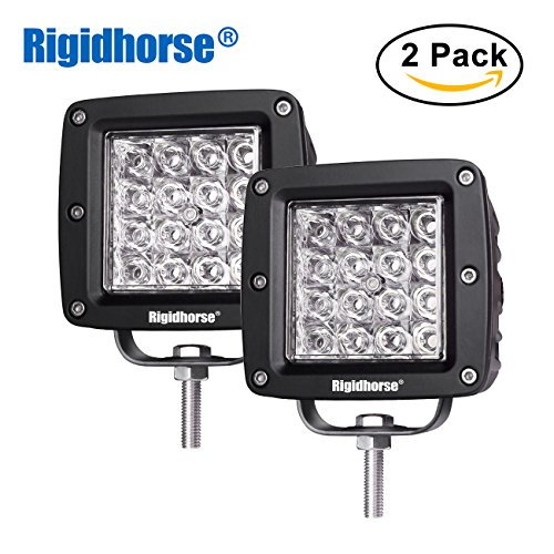 LED Pods Light Rigidhorse 12D Quad Row 2 pcs 4