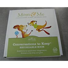"Hallmark Conversations to Keep ""Mom & Me"" (Hardcover)"
