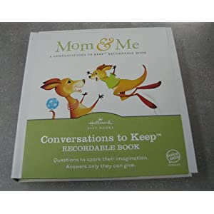 "Hallmark Conversations to Keep ""Mom & Me"" (Hardcover)"