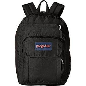 JanSport Digital Student, Black/Forge Grey 1, One Size