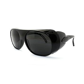 Q-BAIHE Negro Tóner/Soldadura Gafas de Protección/Gafas de Trabajo Gafas de
