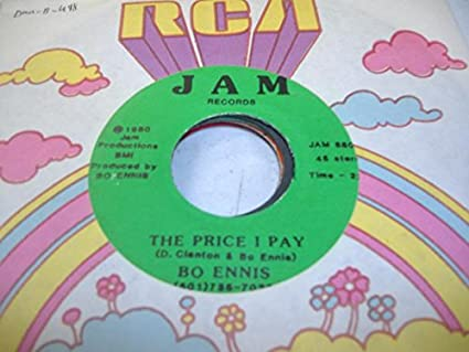 BO ENNIS 45 RPM The Price I Pay / Losing You