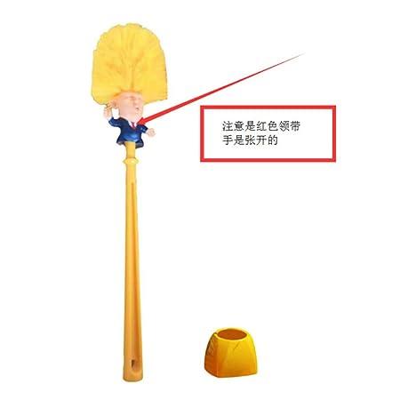 Ruixinshi Trump Cepillo WC Suministros Set Cepillo Sanitario ...