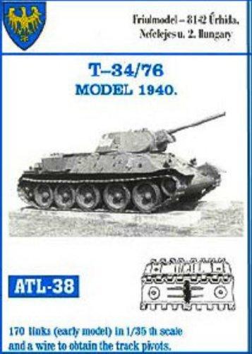 Amazon com: Friulmodel ATL38 1/35 Metal Track for T-34 early