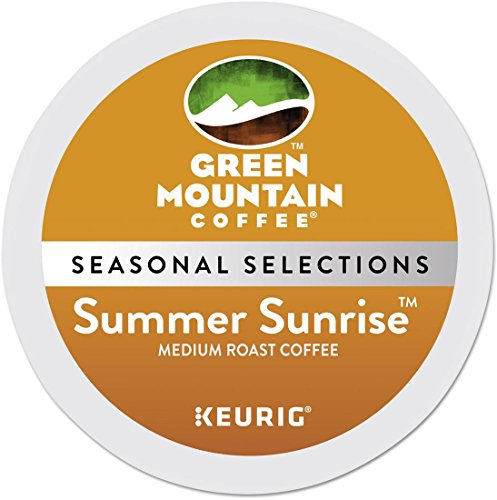 Green Mountain Coffee Summer Sunrise Fuse K-cup for Keurig Brewers, 24-count, 24 Count