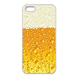 2014 Inspired Design&Beer Bubble Background Case Cover for iPhone 5/5S- Personalized Hard Cell Phone Back Protective Case Shell-Perfect as gift