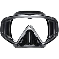 Scubapro Crystal Vu Dalış Maskesi Siyah-Bronz