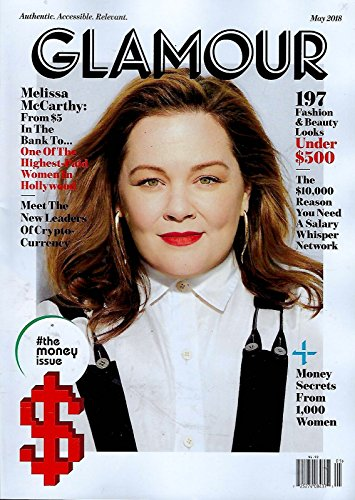Glamour Magazine (May 2018) Melissa McCarthy Cover