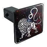 zodiac trailer - Leo Lion Zodiac Sign Horoscope in Space Tow Trailer Hitch Cover Plug Insert 1 1/4 inch (1.25