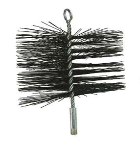 """PYROMASTER 8"""" Round Steel Wire Chimney Brush"""