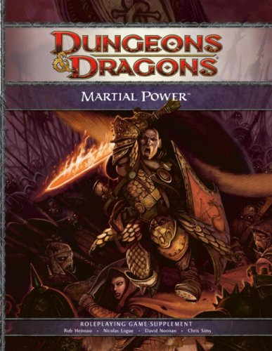 martial power 4th edition buyer's guide