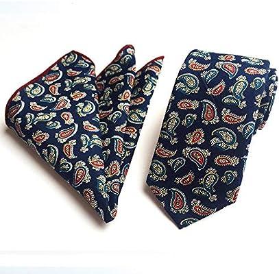 Littlefairy Hombre Designer Corbata,Flores Slim fit Lazo de ...