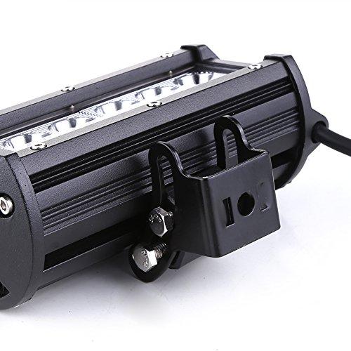 Rupse 36W LED Barre de Travail Phares /étanche Longue Port/ée Led Projecteur pour V/éhicule Tout-terrain Atv Bateaux SUV Camion Voiture