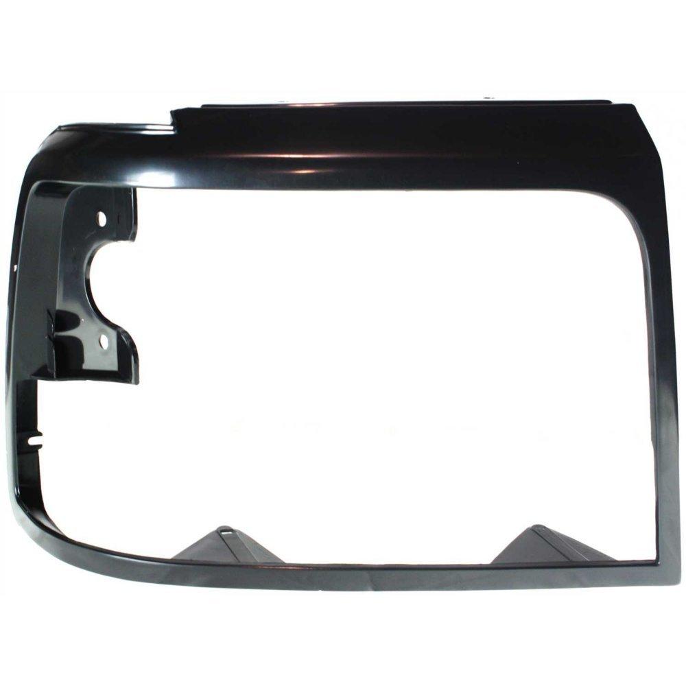 Evan-Fischer EVA18972011242 Headlight Door for Ford F-Series 92-97 RH Black 4333012538