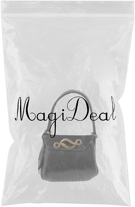 1:12 Dollhouse Miniature PU Leder Handtasche für Figuren Damen