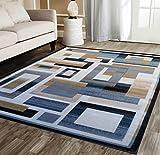 Modern Area Rug Design R 584 Dusk (8 Feet X 10 Feet 6 Inch)