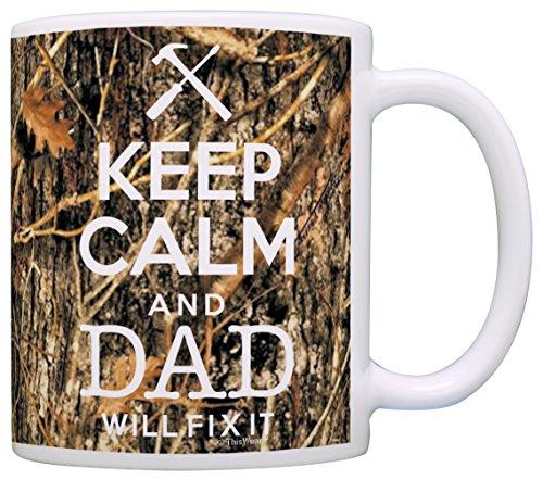 Woodland Camo Keep Calm Coffee