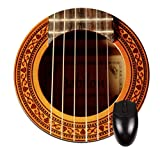 Guitar Strings - Jacks Outlet Round Mouse Pad - Stylish, Durable Office Accessory