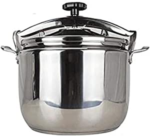 Stainless Steel Commercial Thickened Explosion-proof Pressure Cooker,Multi function,Steaming,Stewing, Suitable For Cooking At Home,Restaurant,Canteen,Large Capacity 15L~50L