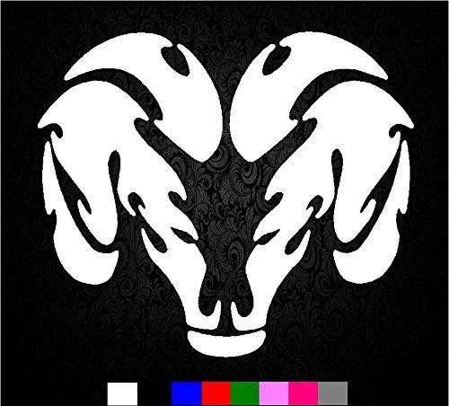 Dodge Ram horns Logo 1500 2500 3500 Vinyl Decal Sticker Vinyl hemi (5.5