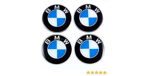 4 Pegatinas con Logotipo de 60 mm para Llantas de BMW.: Amazon.es: Coche y moto