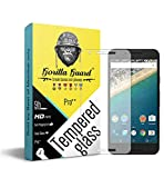 Gorilla guards HD+ Clear tempered glass screen protector for Google Pixel XL 5.5inch (PRO++ series) 10H hardness, oelophobic, UV protect, 2.5D rounded edges, neo coated, free instalation kit, BEST DEAL! (04-Google-Pixel-XL-p++)