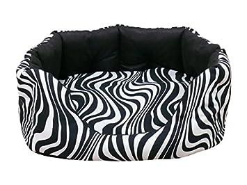 Artur Soja Zebra sofá Cama para Perros Perros sofá Dormir Espacio Perros Cojín Animales Cama Tallas: S - XL: Amazon.es: Productos para mascotas