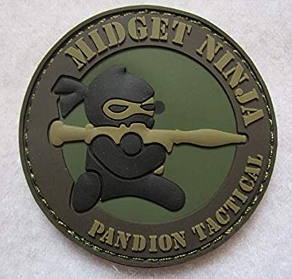 Amazon.com: Midget Ninja PANDION Tactical Tactical Spirit ...