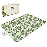 MIU COLOR Outdoor Beach Blanket 2019 Upgraded 3 Layers Thickened XL Waterproof Picnic Mat Ground Cover - Multipurpose Outdoor/Indoor Blanket for Camping, Hiking, Festival, Park