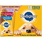 PEDIGREE Chopped Ground Dinner Wet Dog Food: (6) H...