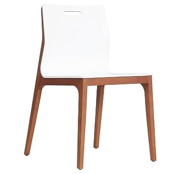 Esszimmerstuhl Stuhl Küchenstühle Weiß Walnuss Stühle Essgruppe xdCeWoQrB
