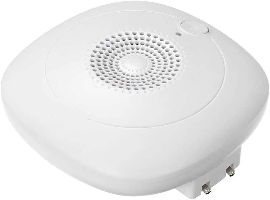 Ritioner Ozono port/átil Desodorante Esterilizador O3 Generador de Iones Negativos Purificador de Aire formaldeh/ído Bacterias removedor para el Dormitorio Cocina Ba/ño Oficina Hotel AC100~240V